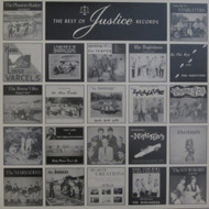 331 VARIOUS ARTISTS - THE BEST OF JUSTICE RECORDS LP (331)