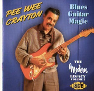 PEE WEE CRAYTON - BLUES GUITAR MAGIC (CD)