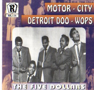 FIVE DOLLARS - MOTOR CITY DOO-WOPS VOL. 3 (CD)