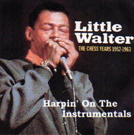 LITTLE WALTER - HARPIN' ON THE INSTRUMENTALS (CD)