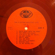 FIVE SATINS - GREATEST HITS VOL  2 (Relic LP - RED VINYL)