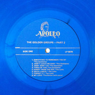 GOLDEN GROUPS VOL. 48 - BEST OF APOLLO VOL. 3 (LP - Blue vinyl)