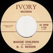 D.C. BENDER - BOOGIE CHILDREN