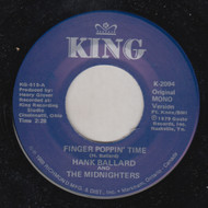 HANK BALLARD AND MIDNIGHTERS - FINGER POPPIN' TIME/ LET'S GO LET'S GO LET'S GO