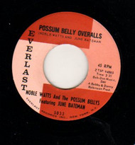 JUNE BATEMAN - POSSUM BELLY OVERALLS RnB45-0054