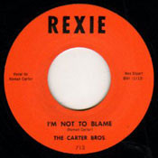 CARTER BROS. - I'M NOT TO BLAME