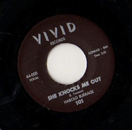 HAROLD BURRAGE - SHE KNOCKS ME OUT