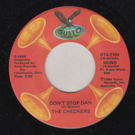 CHECKERS - DON'T STOP DAN