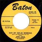 ANN COLE - GOT MY MOJO WORKING