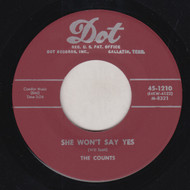 COUNTS - SHE WON'T SAY YES