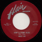 MERCY DEE - ROMP AND STOMP BLUES
