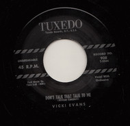 VICKI EVANS - DON'T TALK THAT TALK TO ME