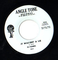 FI-TONES - IT WASN'T A LIE