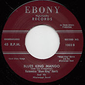 "HARMONICA ""BLUES KING"" HARRIS - BLUES KING MAMBO"