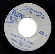 HOLLYWOOD SAXONS - EVERYDAY'S A HOLIDAY