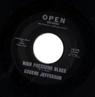 EUGENE JEFFERSON - HIGH PRESSURE BLUES