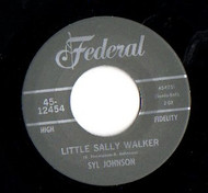 SYL JOHNSON - LITTLE SALLY WALKER
