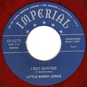 LITTLE SONNY JONES - I GOT BOOTED