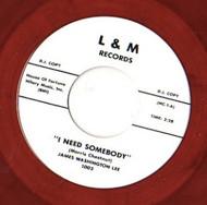 JAMES WASHINGTON LEE - I NEED SOMEBODY