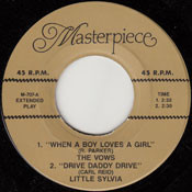 LITTLE SYLVIA - DRIVE DADDY DRIVE (45)