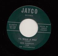 BOB MARRIOTT - I'LL WALK A MILE