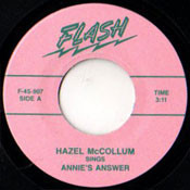 HAZEL McCOLLUM - ANNIE'S ANSWER
