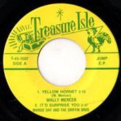 WALLY MERCER - YELLOW HORNET + 3