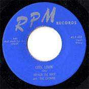 ARTHUR LEE MAYE - COOL LOVIN'