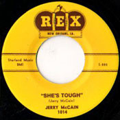JERRY McCAIN - SHE'S TOUGH/STEADY