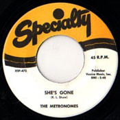 METRONOMES - SHE'S GONE