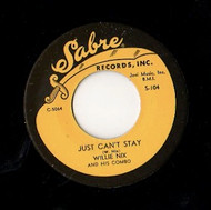 WILLIE NIX - JUST CAN'T STAY