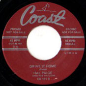 HAL PAIGE - DRIVE IT HOME