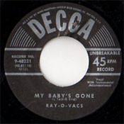 RAY-O-VACS - MY BABY'S GONE