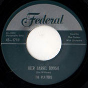 PLATTERS - BEER BARREL BOOGIE RnB45-1033