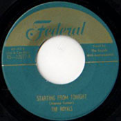 ROYALS - STARTING FROM TONIGHT