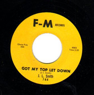 J.L. SMITH - GOT MY TOP LET DOWN
