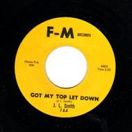 J.L. SMITH - GOT MY TOP LET DOWN