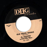 AL SIMMONS - OLD FOLKS BOOGIE