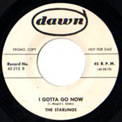 STARLINGS - I GOTTA GO NOW