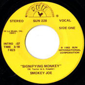SMOKEY JOE - SIGNIFYING MONKEY