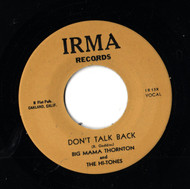 BIG MAMA THORNTON - DON'T TALK BACK