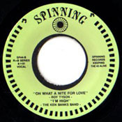 RON TYSON - OH WHAT A NITE FOR LOVE