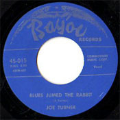 JOE TURNER - BLUES JUMPED THE RABBIT