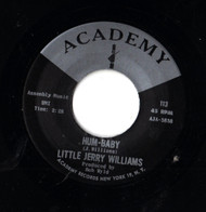 LITTLE JERRY WILLIAMS - HUM-BABY