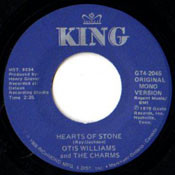 OTIS WILLIAMS AND CHARMS - HEARTS OF STONE