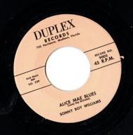 SONNY BOY WILLIAMS - ALICE MAE BLUES