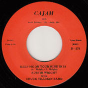 AUSTIN WRIGHT - KEEP ME ON YOUR MIND IN '59