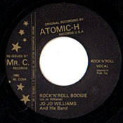 JO JO WILLIAMS - ROCK AND ROLL BOOGIE