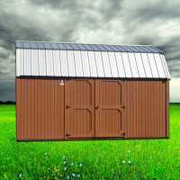 Shown in the 10 x 16 size with Seminole Brown siding.