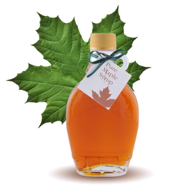 100% Pure Maple Syrup Classic Bottle 8.45oz 250ml